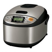 Zojirushi-NS-LAC05XT-Micom-3-Cup-Rice-Cooker-and-Warmer-Black-and-Stainless-Steel-0