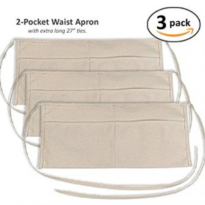 2-Pocket-Canvas-Waist-Apron-3-Pack-0