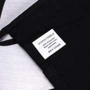 3-Pockets-Waist-Apron-SET-of-2-Black-24x12-inches-Restaurant-Half-Aprons-Bartender-Apron-Money-Apron-by-Utopia-Wear-0-1