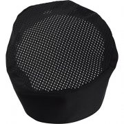 Black-Chef-Hat-Adjustable-Velcro-0-1