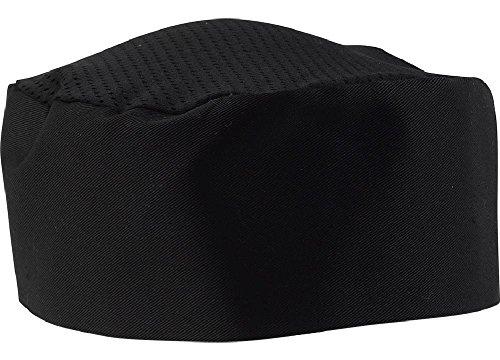 Black-Chef-Hat-Adjustable-Velcro-0