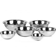 ChefLand-Set-of-6-Standard-Weight-Mixing-Bowls-Stainless-Steel-Mirror-Finish-075-15-3-4-5-and-8-Qt-Mixing-Bowl-Set-Of-6-0