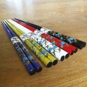 JapanBargain-Brand-5-pair-Japanese-Style-Chopsticks-Gift-Set-Crane-Crane-0